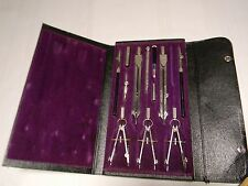 Dietzgen Universal Drafting Tools Set Case Germany 1097 LC Spec 12 Pieces