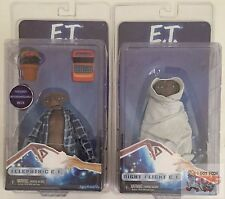 "NIGHT FLIGHT TELEPATHIC ET SET E.T Series 2 NECA 5"" Inch ACTION FIGURE"