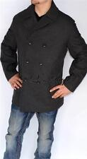 New Mens Authentic Michael Kors Wool Blend Coat Peacoat Charcoal Gray XL XLarge