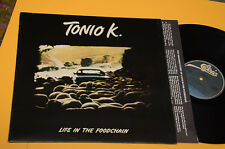 TONIO K LP LIFE IN THE FOODCHAIN 1°ST ORIG ITALY 1978
