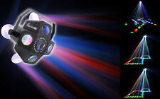 Chauvet DJ CIRCUS 2.0 IRC LED RGBWA Sound Activated  Beam & Strobe Effect Light