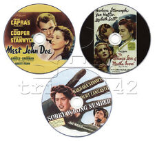 Barbara Stanwyck DVD Collection: Meet John Doe, Sorry Wrong Number, Strange Love