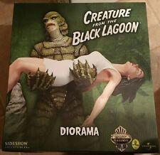 SIDESHOW CREATURE FROM THE BLACK LAGOON EXCLUSIVE 030/100 DIORAMA STATUE