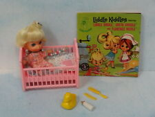 Mattel 1965 FIRST Series Liddle Kiddle  Liddle Diddle- Complete Set w/Komic