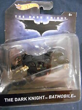 "Hot WHEELS ""the dark knight batmobile"" L'échelle 1/50 (MATTEL) nouveau"