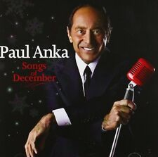 Paul Anka Songs Of December CD NEW 2012 Silver Bells/White Christmas/Let It Snow
