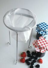 Tala Jam Straining Kit with Chrome Stand - Ideal for making Jelly and Jam