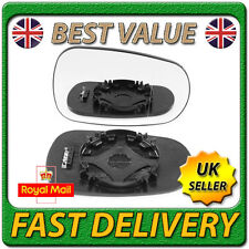 Right Driver Off Side Heated Wing Door Mirror Glass for RENAULT MODUS 2004-2008
