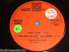 "VINYL 7"" SINGLE - MUNGO JERRY - BABY JUMP - DNX.2505"