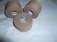 """BROWN ATHLETIC TAPE  3 rolls  1.5""""x15yds.  #85-1   * COSMETIC SECONDS *"""