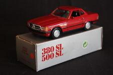 NZG Mercedes-Benz 380 / 500 SL 1:35 Red (JS)