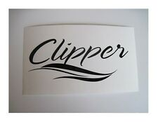 2 x CLIPPER COACHMEN RV TRAILER CAMPER DECALS STICKERS WHEEL POP UP