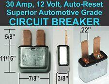30A 12V CIRCUIT BREAKER Auto Reset 30 Amp 12 Volt Automotive GM General Motors