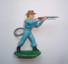 Figurine ancienne cyrnos époq. starlux cow boy farwest tireur fusil debout cbII3
