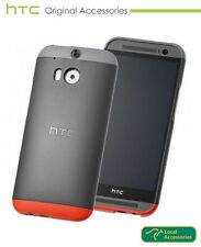 Genuine HTC One M8 Double Dip Case Black with Genuine Screen Protector Pack