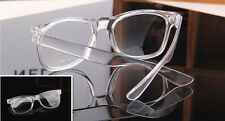 Fashion Eyeglass Frame Vintage Transparent Glasses Retro UV400 Plain Lens Optic