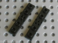 LEGO TECHNIC black hinge plates 4275b & 4276b / Set 4565 5510 6276 3804 8422 ...