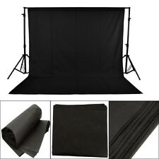 Black 3*1.5m Anti-wrinkle PVC Backgrounds Backdrop for Photo Studio Photography