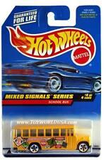 1998 Hot Wheels #736 Mixed Signals Series #4 School Bus with hw logo on door