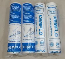 5 Micron Pre-Filter 4 PCS Kemflo PP/Spun/Cartridge For RO/UV Water Purifier