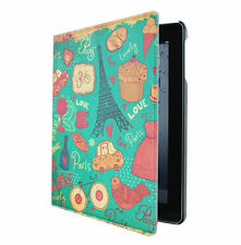 New Designer iHappy Leather Stand Case Cover For iPad Air --Green