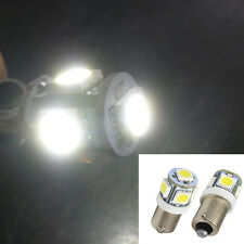 1Pc 12V White T11 BA9S T4W H6W 363 5 LED 5050 SMD Car Wedge Side Light Lamp Bulb