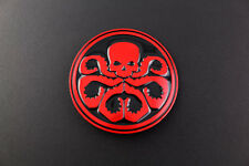 CAPTAIN AMERICA HYDRA RED BELT BUCKLE THE AVENGERS SHIELD MARVEL SUPERHERO