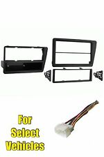02-05 Honda Civic SI Single + Double Din Stereo Radio Install Dash Car Kit Combo