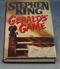 Gerald's Game by Stephen King Publisher: Viking. 1st edition, VF/F.