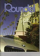 Roundel BMW Magazine November 2004 Issue - 645Ci in Beverly Hills on the Cover