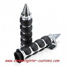 """QUALITY, 1"""",SPIKED,HANDLEBAR,GRIPS,BILLET,CHOP,TRIKE,STREETFIGHTER,PROJECT,"""
