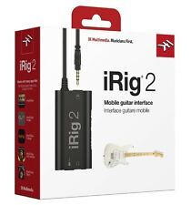 IK Multimedia iRig 2 Guitar Interface Adaptor for iPhone/iPad/Mac/Android