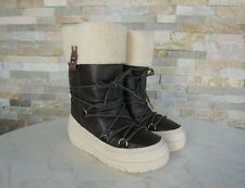 NAPAPIJRI Gr 37,5 Stiefel Moonboots Fell BELLA Schuhe shoes brown NEU  UVP 110 €