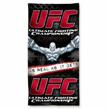 "NWT UFC Ultimate Fighting Championship Wincraft 30"" X 60"" Cotton Beach Towel NEW"