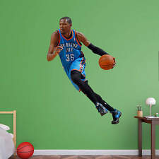"Kevin Durant FATHEAD Real Big LIFESIZE ONLY (4'6"" x 5'11) Thunder NBA Graphics"
