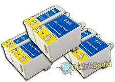3 Conjuntos t040/t041 Compatible no-OEM Cartuchos De Tinta Para Epson Stylus C62
