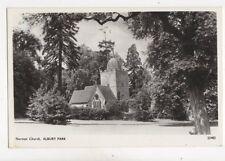 Norman Church Albury Park Vintage RP Postcard 197b