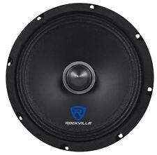 "Rockville RXM84 8"" 250w 4 Ohm Mid-Bass Driver Car Audio Speaker, Kevlar Cone"