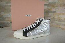 MIU MIU Gr 41 High-Top Sneakers Schuhe shoes 5T9039 multicolor NEU UVP 390 €