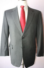 Brooks Brothers Gray Nailhead Wool Two Button Mens Suit Size 41 R 34 29 Pants 1