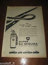 *300=BP CARBURANTE ITALIA=ANNI '60=PUBBLICITA'=ADVERTISING=WERBUNG=PUBLICITE=