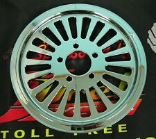 """Ultima Chrome 1.5"""" King Spoke Rear 70T Pulley for 84-99 & 00-Later Harley Models"""