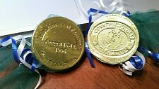 College Football Hall Of Fame Enshrinement Festival 1996 Four Chocolate Coins