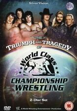 WWE Triumph and Tragedy of World Class Championship Wrestling  2 DVDs orig WWF