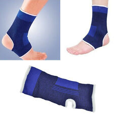 1 Pair Ankle Muscle Protection Elastic Brace Guard Support Sports Gym US