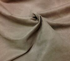 """ULTRASUEDE MINK SUEDE CUSHION FURNITURE FABRIC BY THE YARD 58""""W"""