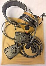 3M Peltor ComTac III Headset Dual Comm Coyote Brown