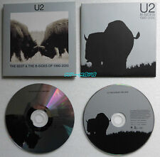 U2 THE BEST & THE B SIDES OF 1990 2000 2 CD Album PROMO UK CARDBOARD SLEEVE
