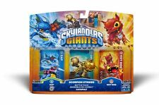 SKYLANDERS GIANTS SCORPION STRIKERS PACK DI BATTAGLIA NUOVO E SIGILLATO