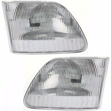 1997 - 2003 FORD F-150 / EXPEDITION HEADLIGHTS HEADLAMPS LIGHTS LAMPS PAIR